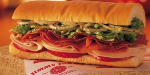 Jimmy John's: $1 Sub Sandwiches (May 2nd from 4PM-8PM)