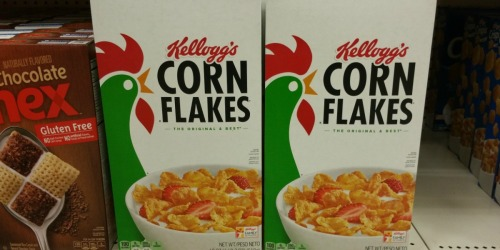New Kellogg's Corn Flakes & Raisin Bran Coupons = $1.50 Per Box at Walgreens & Rite Aid