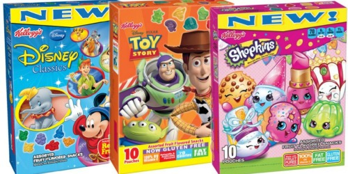 Target: Kellogg's Fruit Snacks Only $1.56 Per Box