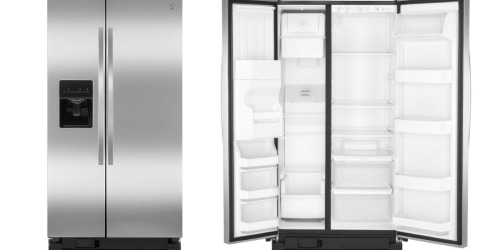 Sears: Kenmore Stainless Steel Side-by-Side Refrigerator Only $825 Delivered (Reg. $1,350)
