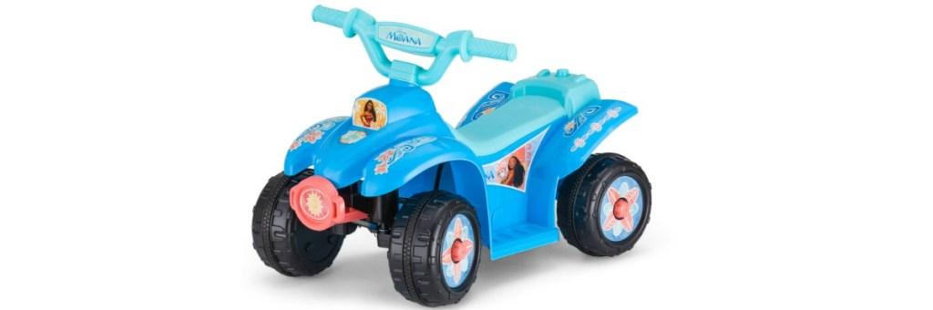 Kid Trax Disney Moana 6V Battery-Operated Quad Ride-On