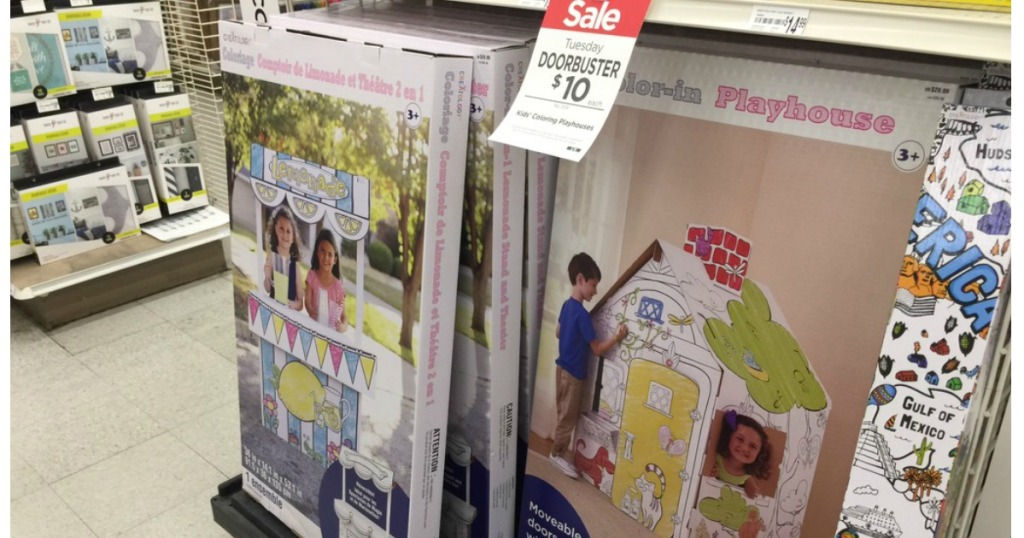 Michaels: $10 Kids\' Color-In Playhouses (Readers Love These!) + ...