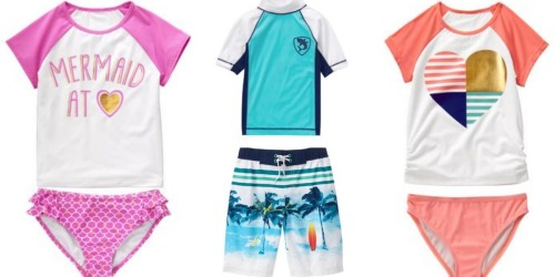 Crazy8: FREE Shipping on ALL Orders = Kids' Swimwear Only $8.88 Shipped