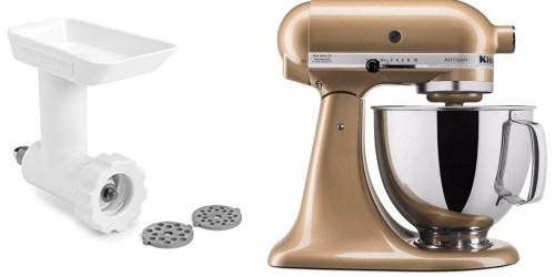Bon•Ton: KitchenAid 5-Quart Stand Mixer + Food Grinder Only $170 Shipped After Rebate
