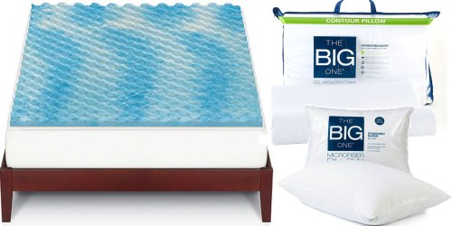 Kohl's Cardholders: Pillows $2.79 Shipped, Memory Foam Mattress Toppers $28 Shipped & More