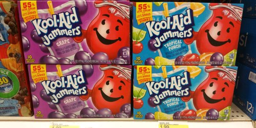 Target: Kool-Aid Jammers 10 Count Boxes Just $1.49 + Save on Country Time (No Coupons Needed)