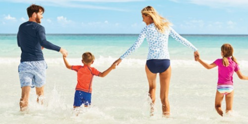 Lands' End: 30% Off ALL Swimwear = Rash Guards $5.58 Shipped & Water Shoes $10 Shipped