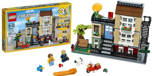 Amazon: LEGO Creator Park Street Townhouse Building Kit Only $39.99 Shipped