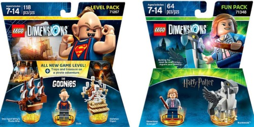 ToysRUs: 50% Off LEGO Dimensions Including Goonies + Save on Nintendo 3DS Mario Games