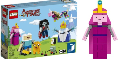 Amazon: LEGO Ideas Adventure Time Set Only $29.27 (Regularly $49.99) – Includes 8 Characters!