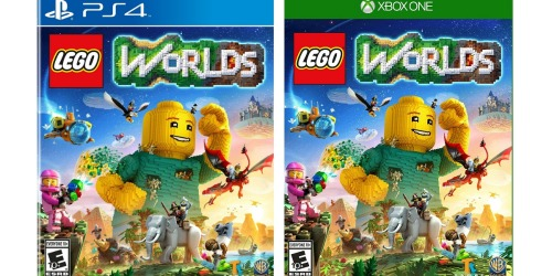 LEGO Worlds PS4 or Xbox One ONLY $19.99 (Regularly $29.99)