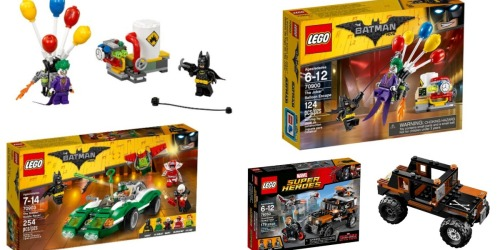 Target: 20% Off Select LEGO Sets (In-Store & Online) = Batman Balloon Escape Set Only $11.99 + More