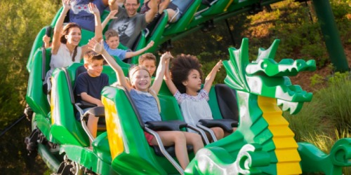 LEGOLAND: FREE Child Ticket with Adult Ticket Purchase ($107 Value)
