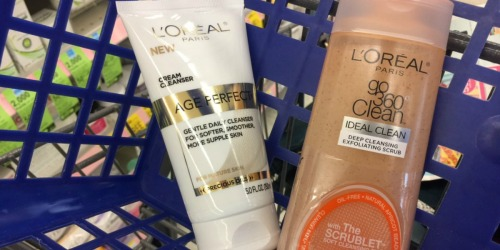Walgreens: L'Oreal Facial Cleansers as Low as $1.95 Each