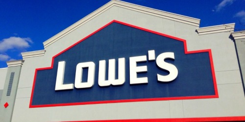 Up to 75% off Lighting at Lowe's