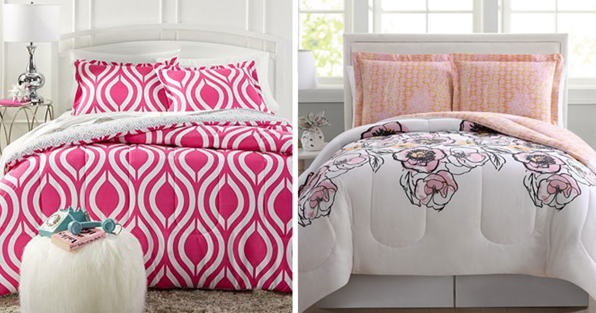 Macy S Com Reversible 3 Piece Comforter Sets Just 18 74
