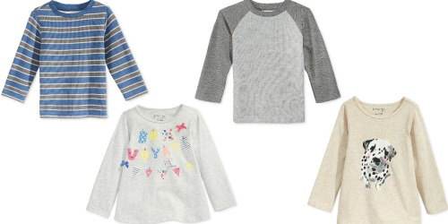 Macy's: OVER 85% Off First Impressions Apparel = Kids' Shirts Only $1.39 (Regularly $13)