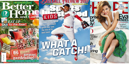 FREE Magazine Subscriptions to Better Homes & Gardens, Sports Illustrated & More