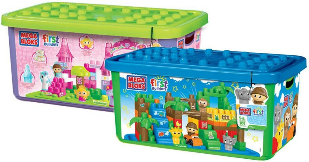 Mega Bloks First Builders Sets