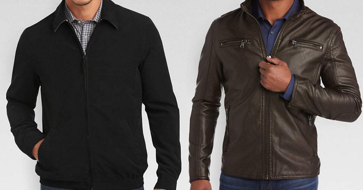 Men's Warehouse Jackets