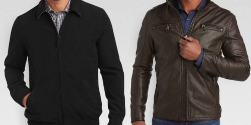 Men's Warehouse: 50% Off Clearance Outerwear = Jackets As Low As $24.99 (Regularly $100+)