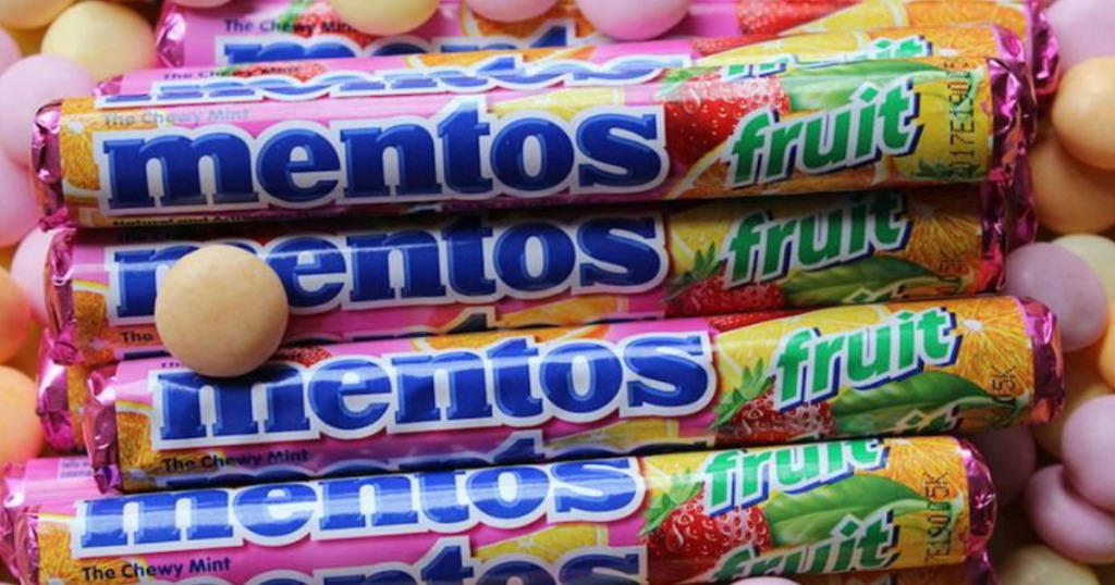 Mentos Mixed Fruit Rolls