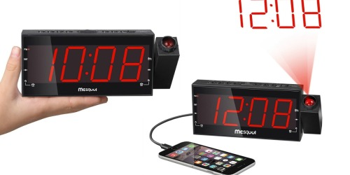 Amazon: Digital Projection Alarm Clock Only $18.89
