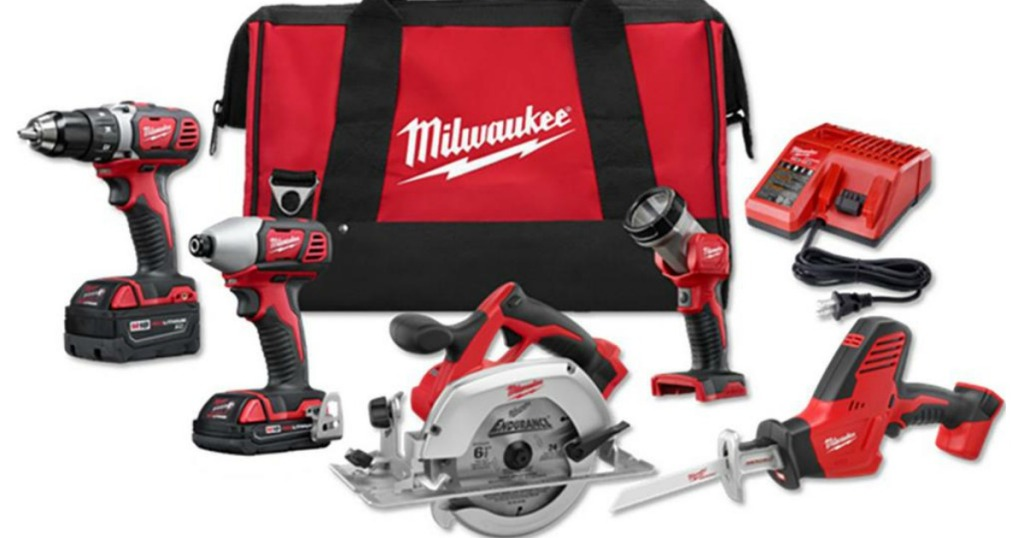 Milwaukee M18 Cordless 5-Tool Combo Kit