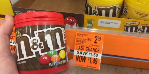 Walgreens: M&M's Bottles Possibly Just 99¢ (Regularly $2.99)
