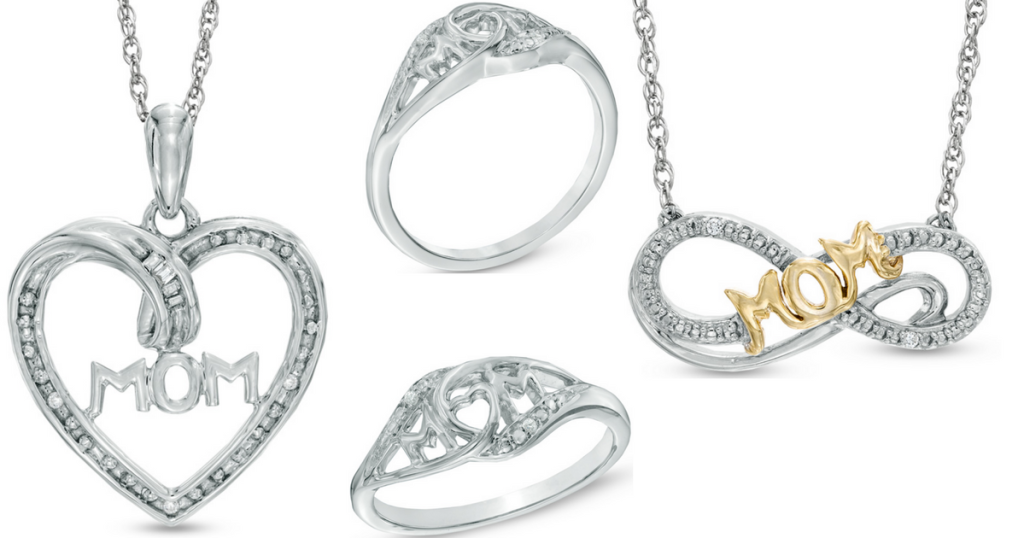 9133cf60f Zales Sterling Silver Mother's Day Necklace Or Ring Just $29.99 Shipped  (Regularly $119)