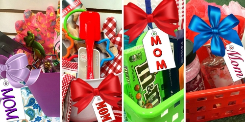 Ten Mother's Day Baskets YOU Can Make from Dollar Tree Items (AND, They're Just $5 Each!)