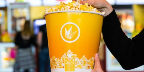 5,000 Win Pair of Movie Tickets ($26 Value) & More