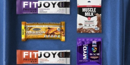 Amazon Prime: Sports Nutrition Sample Box Only $9.99 AND Score $9.99 Credit