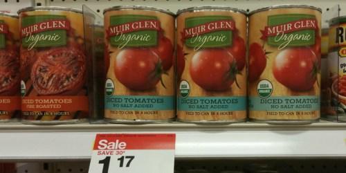 Target Shoppers! Save BIG on Muir Glen, Dr. Pepper, 7Up AND Raisin Bran Cereal