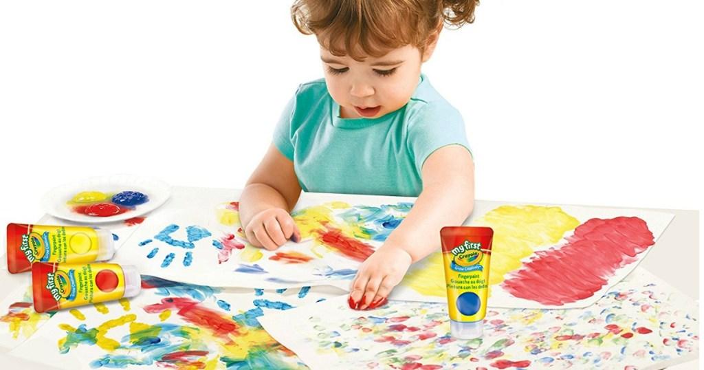 crayola-finger-paints