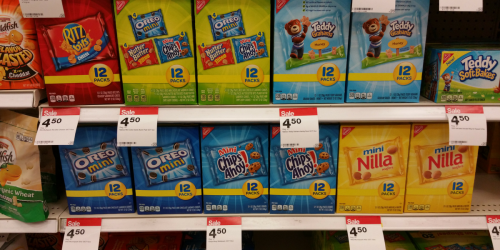 Target: Nabisco Snack 12-Count Boxes As Low As $1.55 Each (Regularly $4.99)