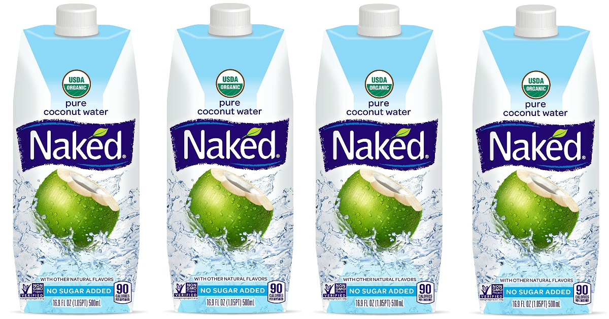 The Prudent Pantry: Naked 100% Naked Coconut Water, 11.2