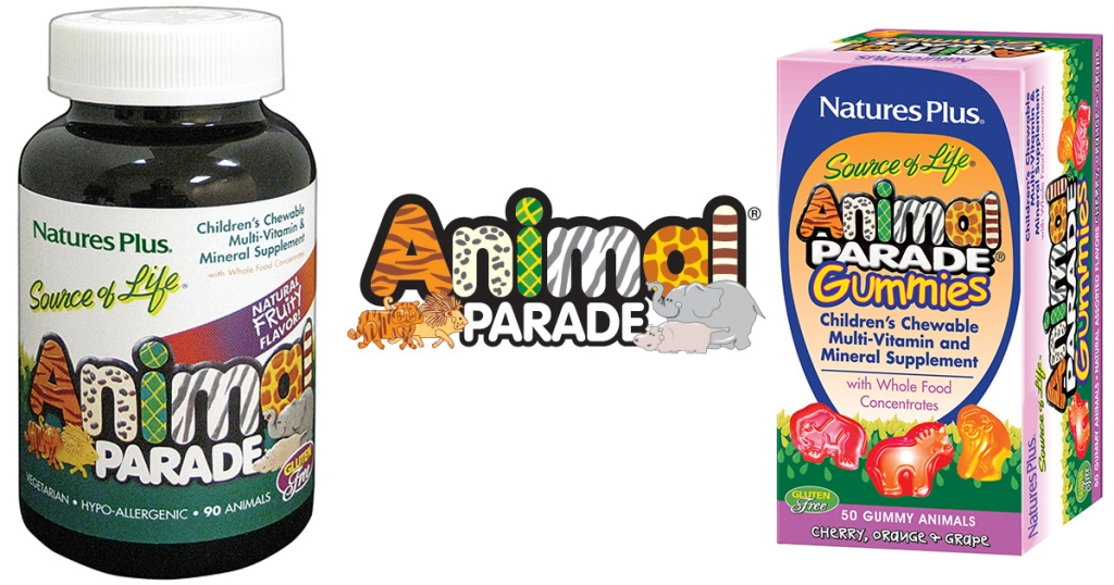 Natures Plus Animal Parade Vitamins