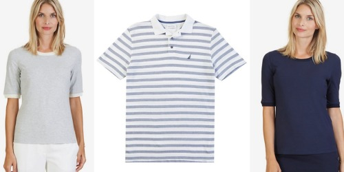 Nautica: Men's Classic Fit Striped Polo Shirts Only $19.97 (Regularly $59) + Much More