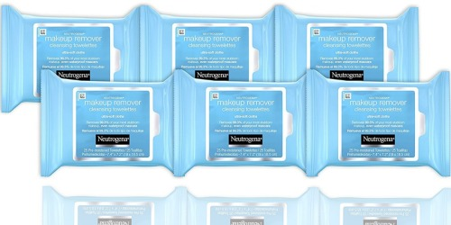 Amazon Prime: 6 Pack Neutrogena Makeup Remover Towelettes $14 Shipped – Just $2.39 Each