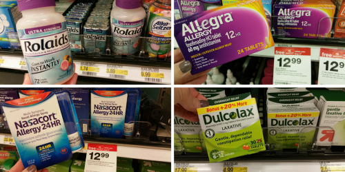 New Red Plum Coupons (Save On Rolaids, Allegra, Nasacort & MUCH More)