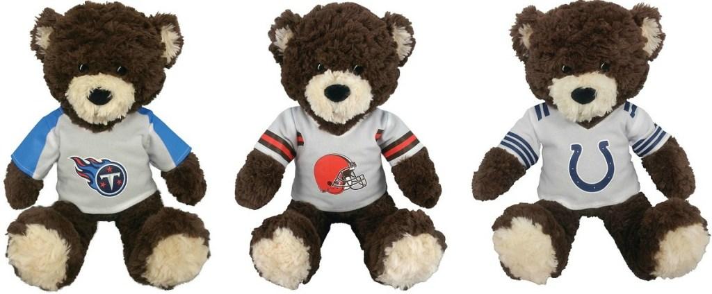 NFL Plush Bears