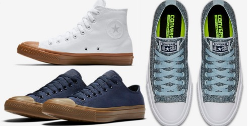 Nike Flash Sale: Men's and Women's Converse Chuck ll Shoes Only $34.97 Shipped (Reg. $75)