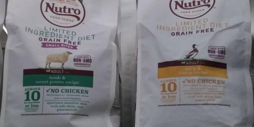 Petco Shoppers! Score FREE 5 Pound Bag of Nutro Brand Dog Food
