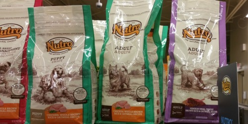 Petco Shoppers! Last Day To Score FREE 5 Pound Bag of Nutro Brand Dog Food