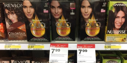 High Value $3/1 Garnier Olia Coupon = Inexpensive Hair Color At Target
