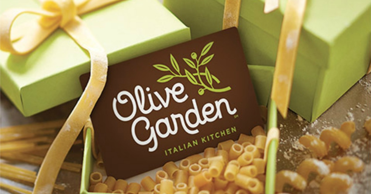 Olive Garden Free 10 Bonus Gift Card With Every 50 Gift Card