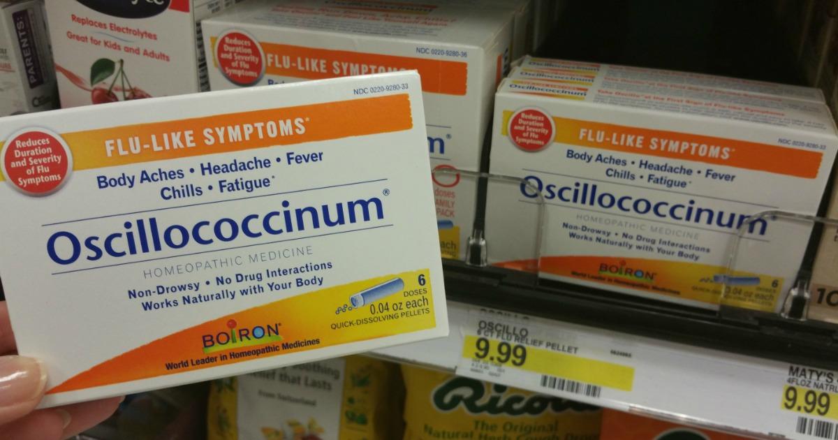 target  boiron oscillococcinum 6