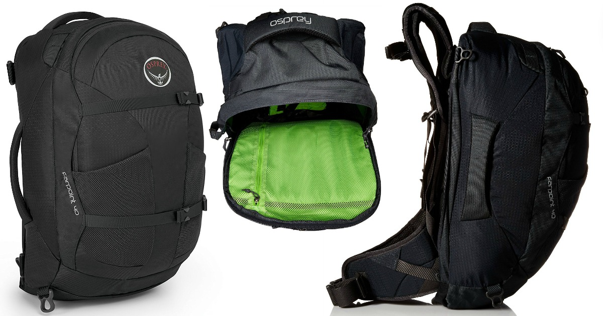 9f5c3ece6cc Amazon: Osprey Farpoint 40 Travel Backpack Only $95.03 Shipped (Reg. $160)  + More