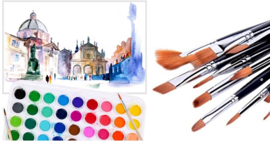 Ohuhu Paint and Paint Brushes